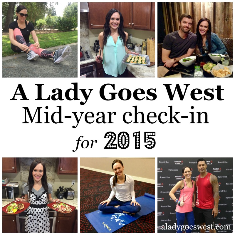A Lady Goes West mid-year check-in for 2015