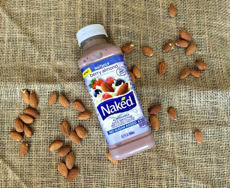 Naked Juice Berry Almond Nutmilk