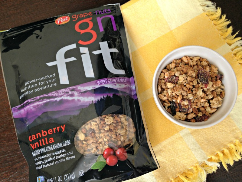 Post Grape-Nuts granola