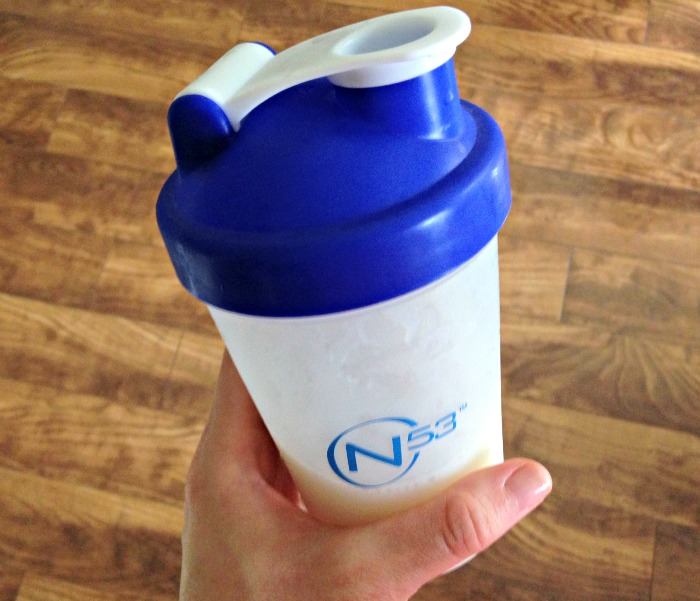 Protein shake 6.9.15