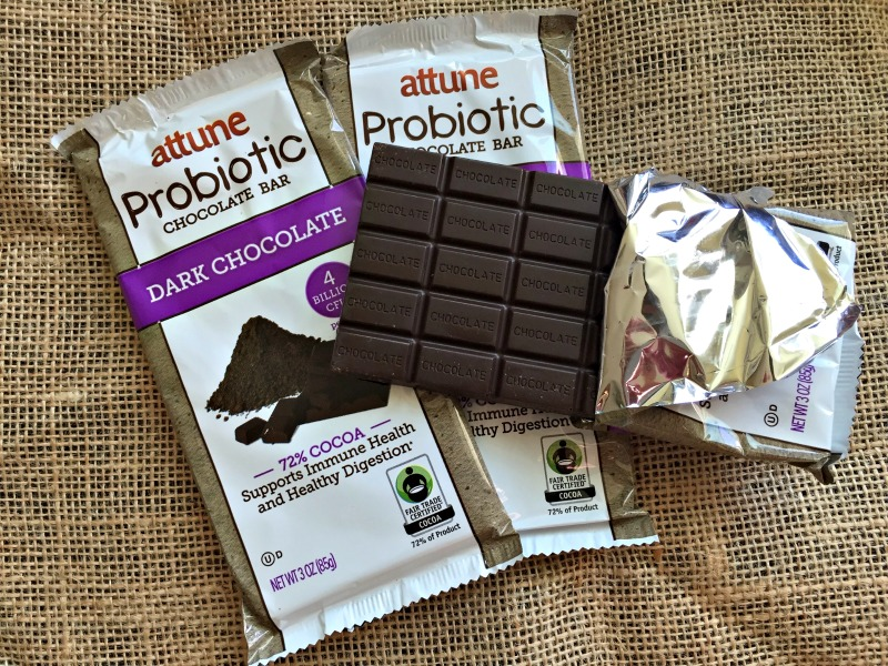 Attune Probiotic bars on Friday Favorites by A Lady Goes West