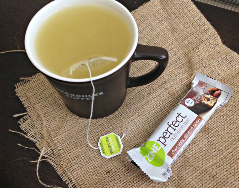 Bar and tea for snack via A Lady Goes West blog