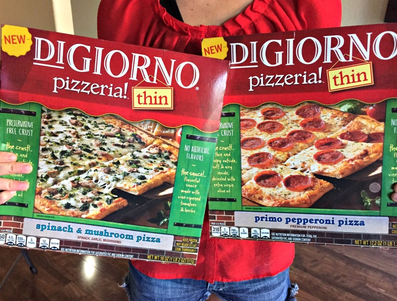 DIGIORNO pizzeria thin pizza review by A Lady Goes West