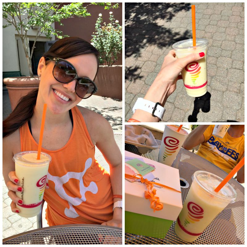 Jamba Juice smoothies via A Lady Goes West Friday Favorites