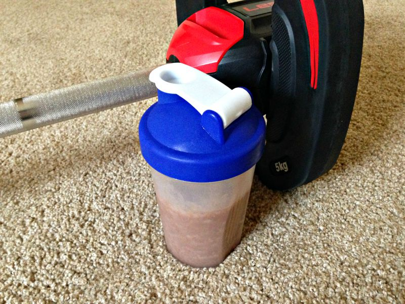 Protein - protein shake after a workoutProtein - protein shake after a workout
