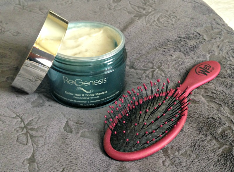 ReGenesis scalp masque and wet brush by A Lady Goes West Friday Favorites