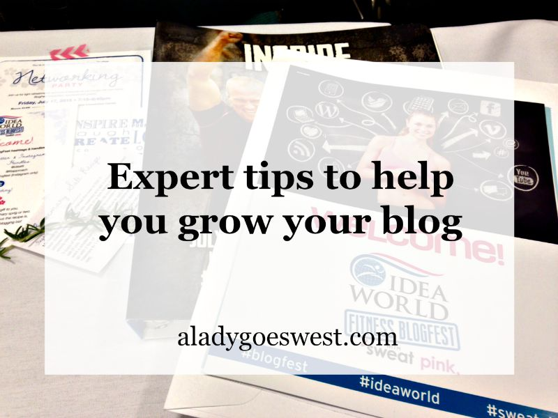 Expert tips to help you grow your blog via A Lady Goes West