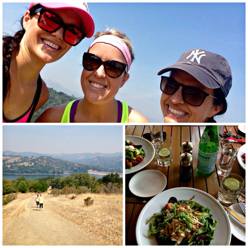 Hike and lunch in Lafayette via A Lady Goes West