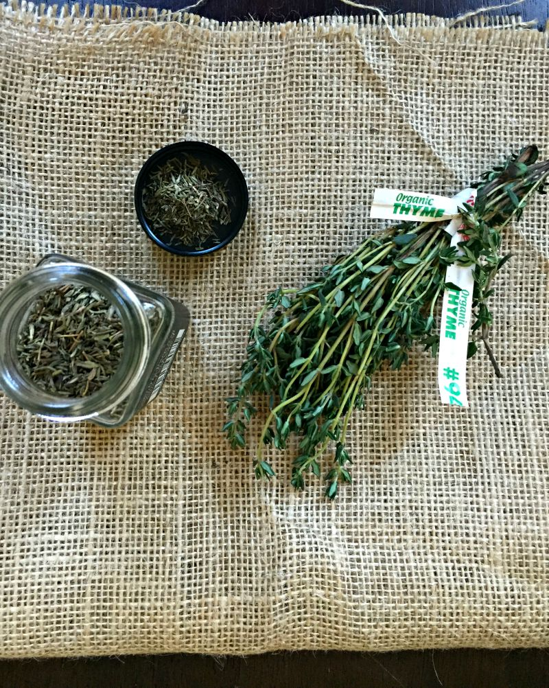 Uses for thyme via A Lady Goes West blog