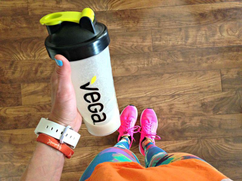 WIAW - vega protein shake