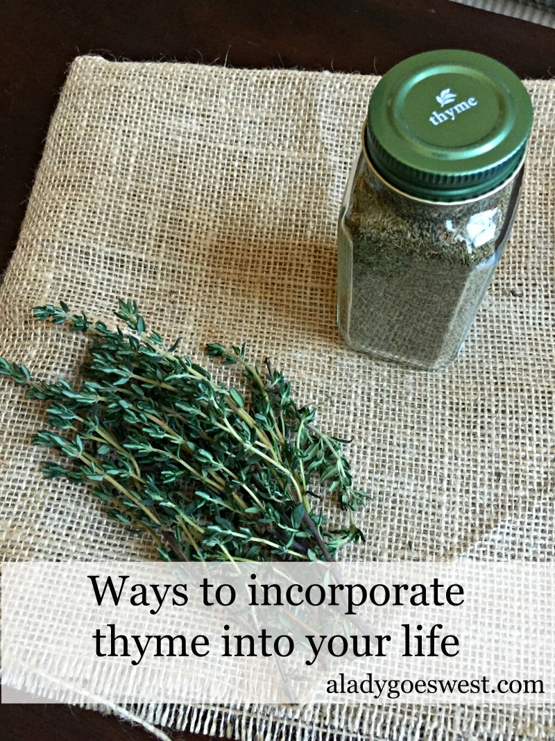 The health benefits of thyme and how to use it