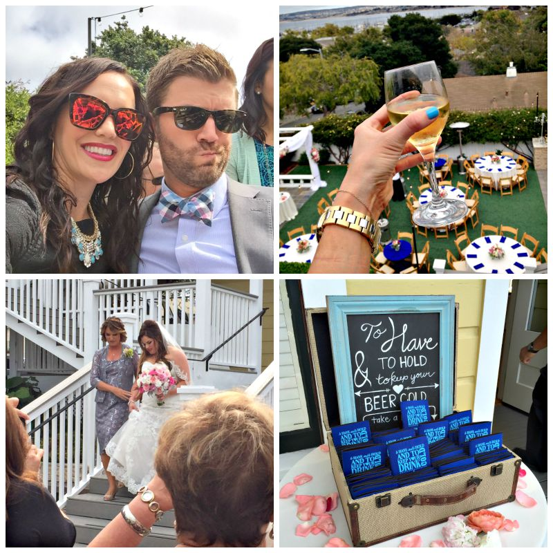 Wedding at The Perry House in Monterey via A Lady Goes West blog