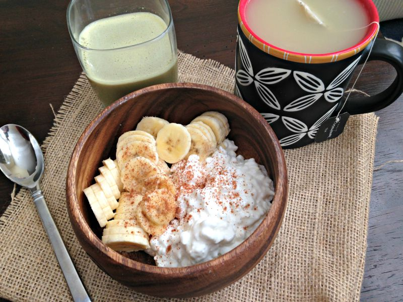 What I Ate Wednesday - breakfast via A Lady Goes West