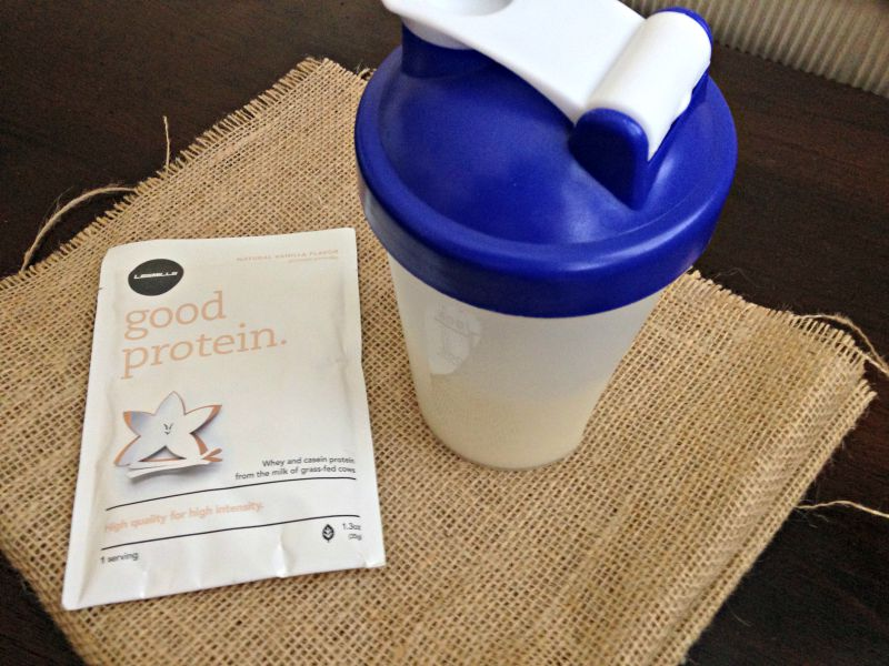 What I Ate Wednesday - post-workout protein via A Lady Goes West