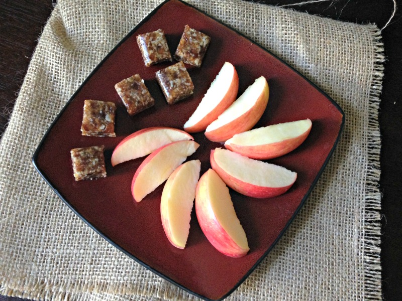 Apple and date-bites via A Lady Goes West