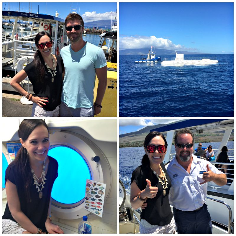 Atlantis Submarine trip in Maui via A Lady Goes West