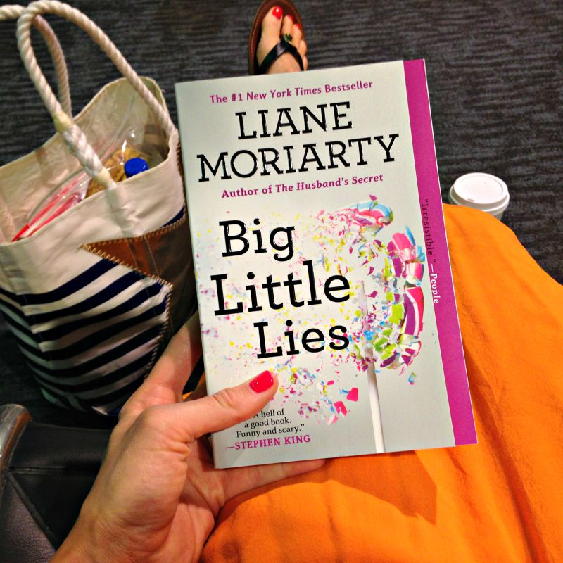 Big Little Lies book via A Lady Goes West