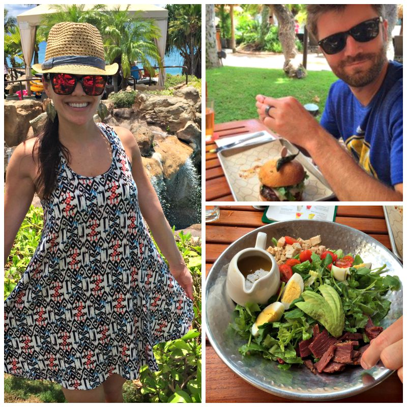 Hanging out at the Westin Maui pool via A Lady Goes West blog