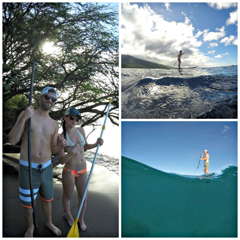 Hawaiian Paddle Sports trip in Maui via A Lady Goes West blog