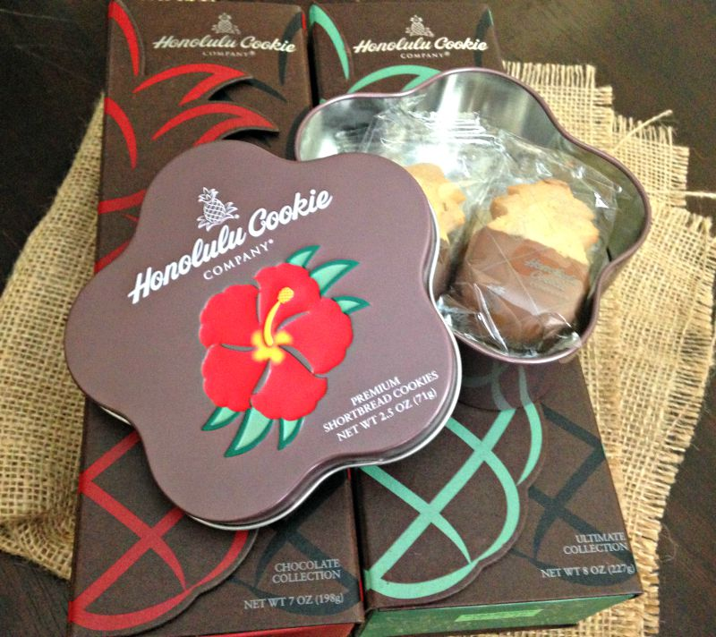 Honolulu Cookie Company products via A Lady Goes West