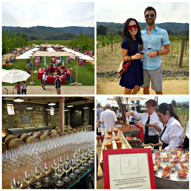 Kathryn Hall wine release party in St. Helena via A Lady Goes West blog