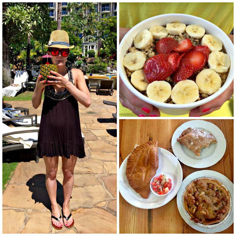 Leoda's Pie, acai bowl and poolside via A Lady Goes West Maui