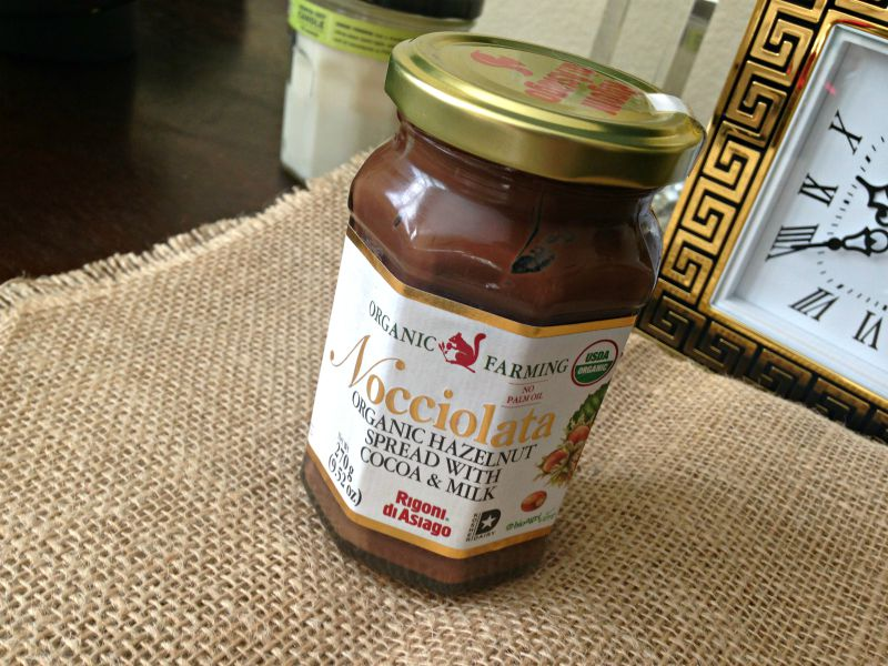Nocciolata spread via A Lady Goes West favorites