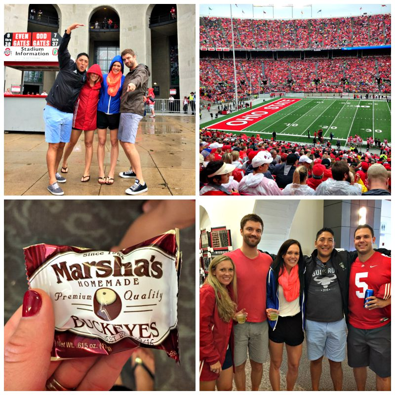 Ohio State game fun via A Lady Goes West