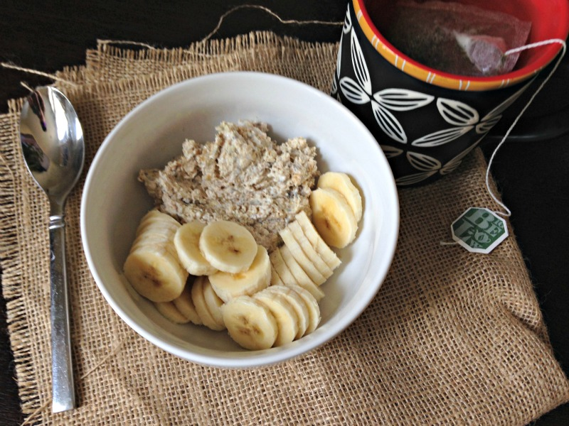 Overnight oats for breakfast via A Lady Goes West
