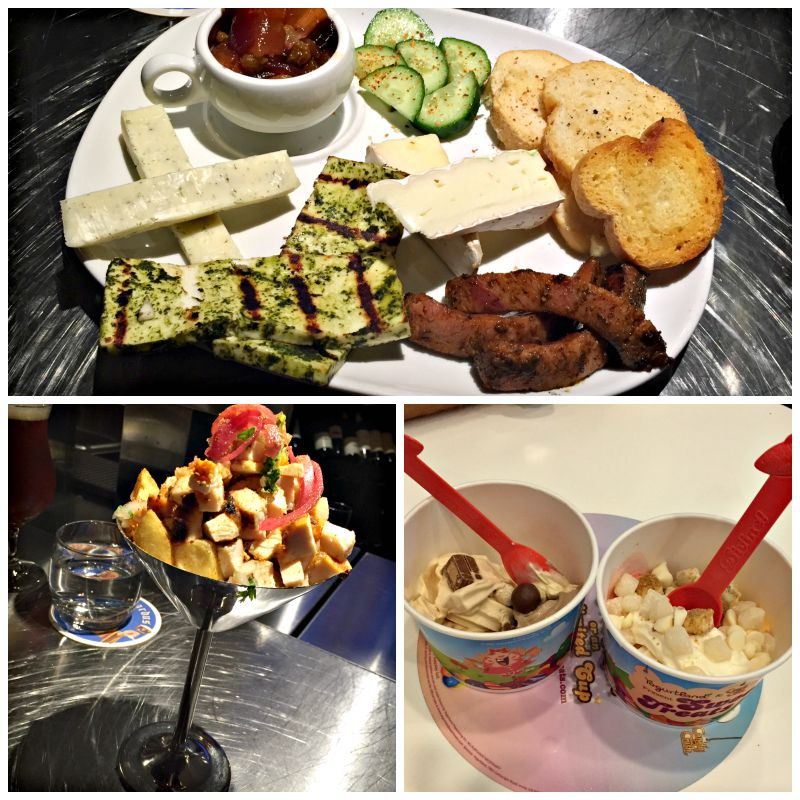 Saturday night eats at Kanishka's and Yogurtland via A Lady Goes West