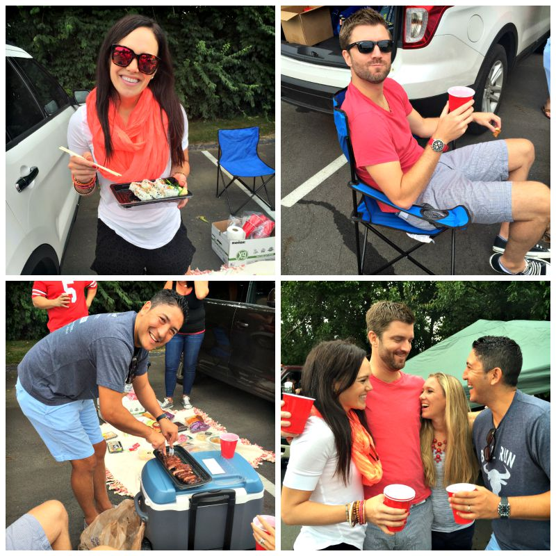Tailgating at the Ohio State game via A Lady Goes West