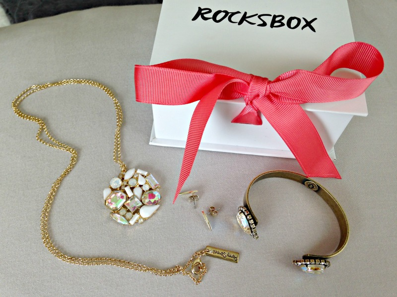 Another lovely Rocksbox delivery via A Lady Goes West