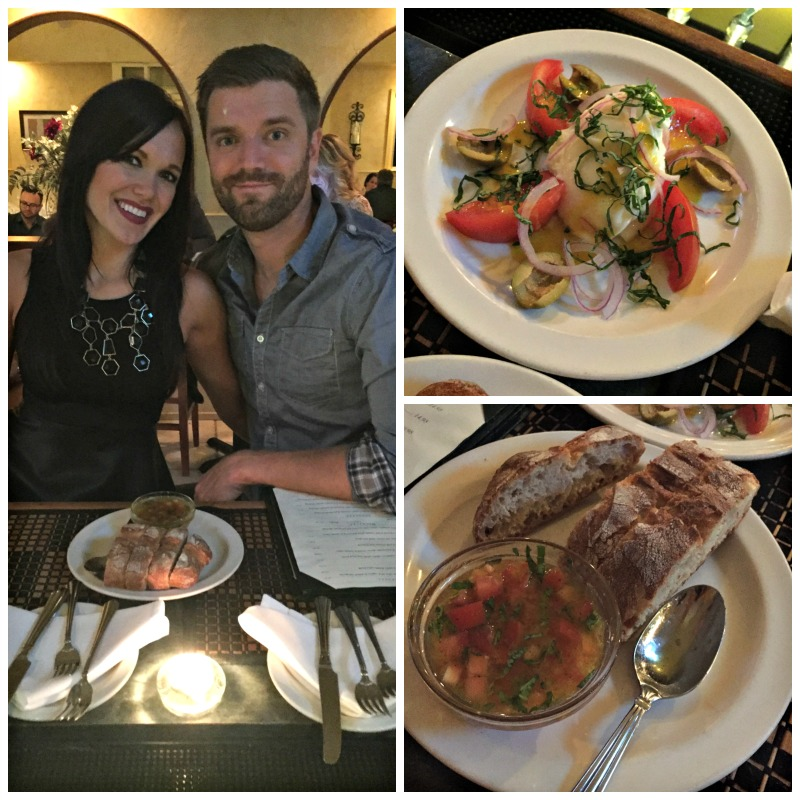 Dinner at Salvatore Ristorante in Walnut Creek via A Lady Goes West