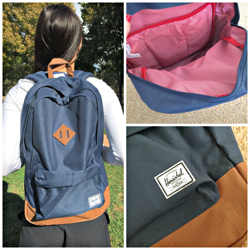 Herschel backpack via A Lady Goes West