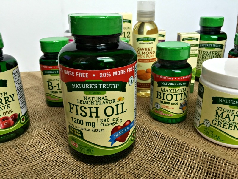 Nature's Truth Fish Oil review by A Lady Goes West