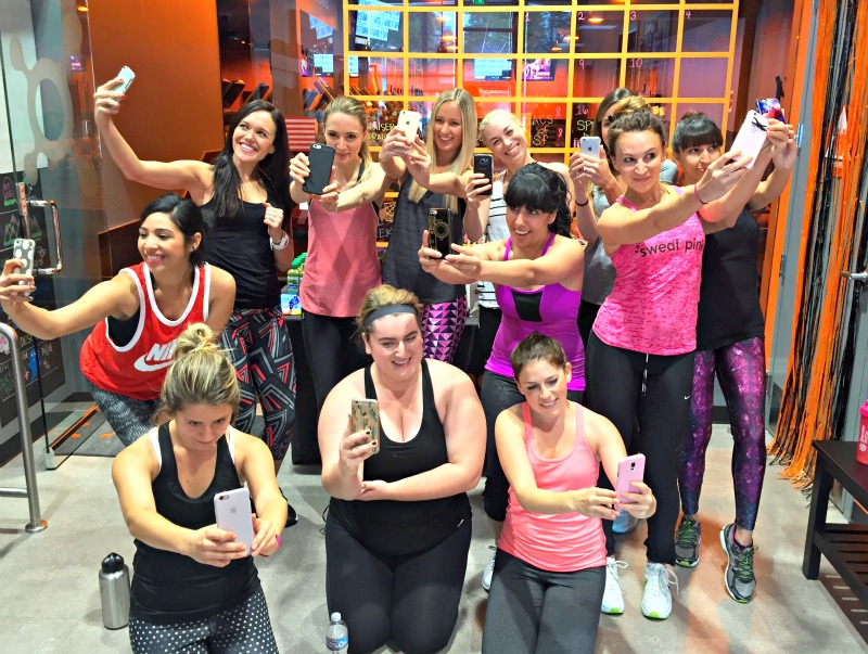 Selfie at Bay Area Blogger Meet and Sweat via A Lady Goes West