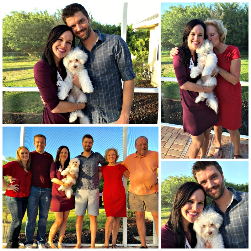 Family Thanksgiving photos from 2015