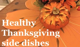 Give your Thanksgiving a boost with healthy side dishes