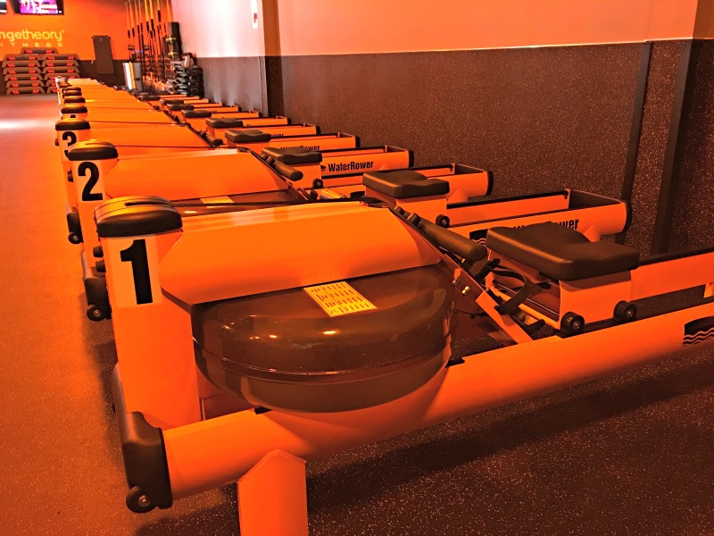 How to get more out of your Orangetheory workout via A Lady Goes West - water-rower