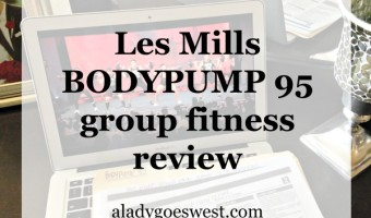 Les Mills BODYPUMP release 95 group fitnesss review