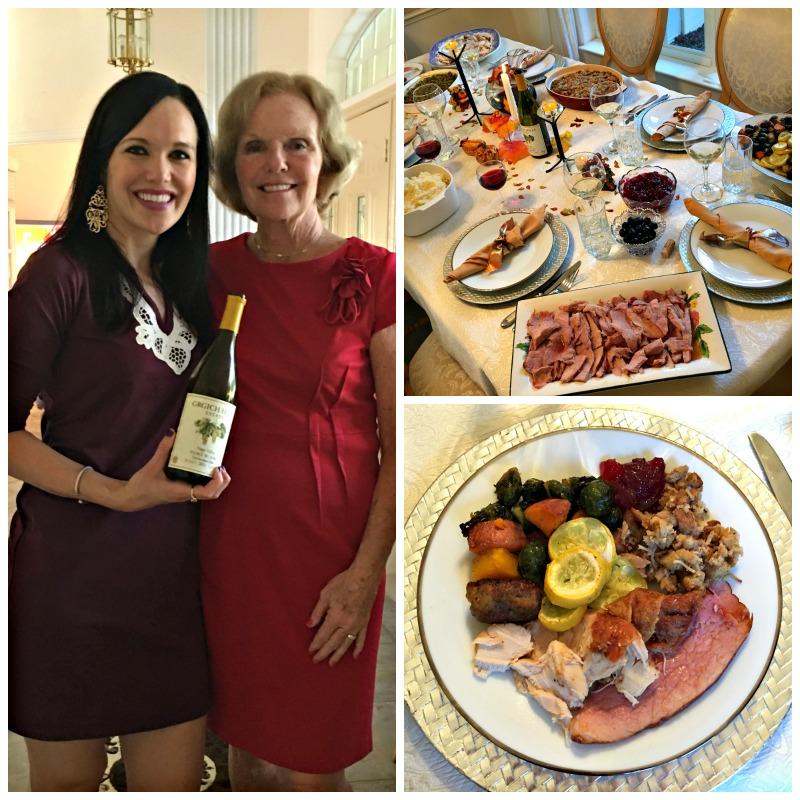 Thanksgiving dinner 2015 in Florida
