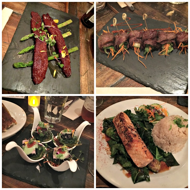 Delicious food at Kitchen Story in the Mission via A Lady Goes West blog