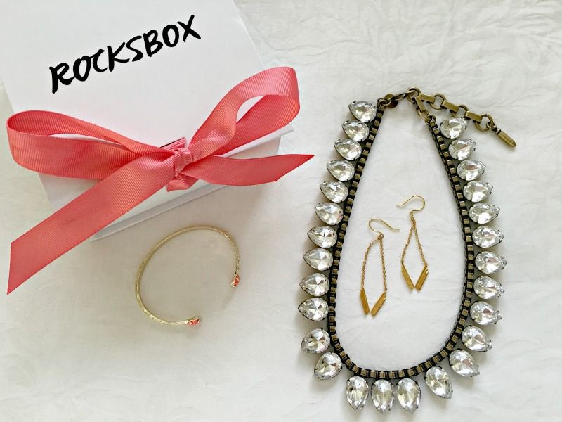 Rocksbox jewelry set with Kendra Scott, Loren Hope and more via A Lady Goes West