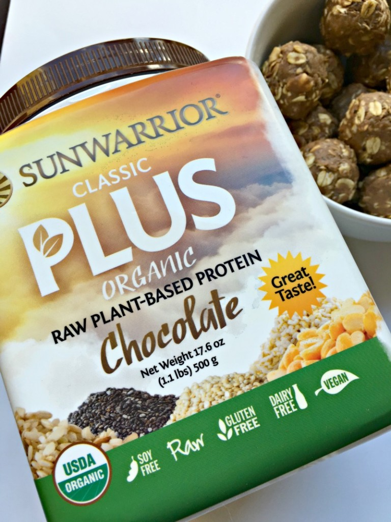 Sunwarrior classic plus protein powder via A Lady Goes West blog