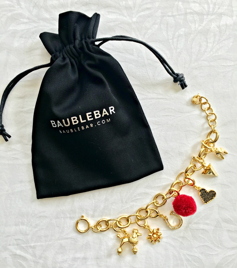 BaubleBar Charm Bracelet by A Lady Goes West