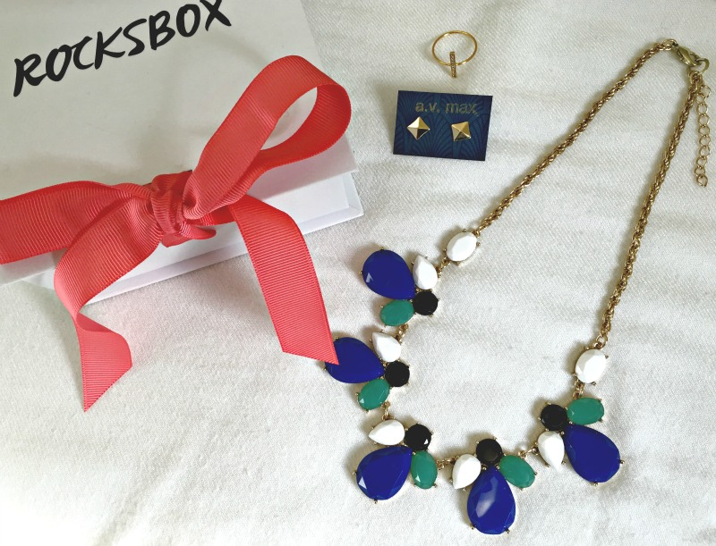 Colorful Rocksbox delivery by A Lady Goes West