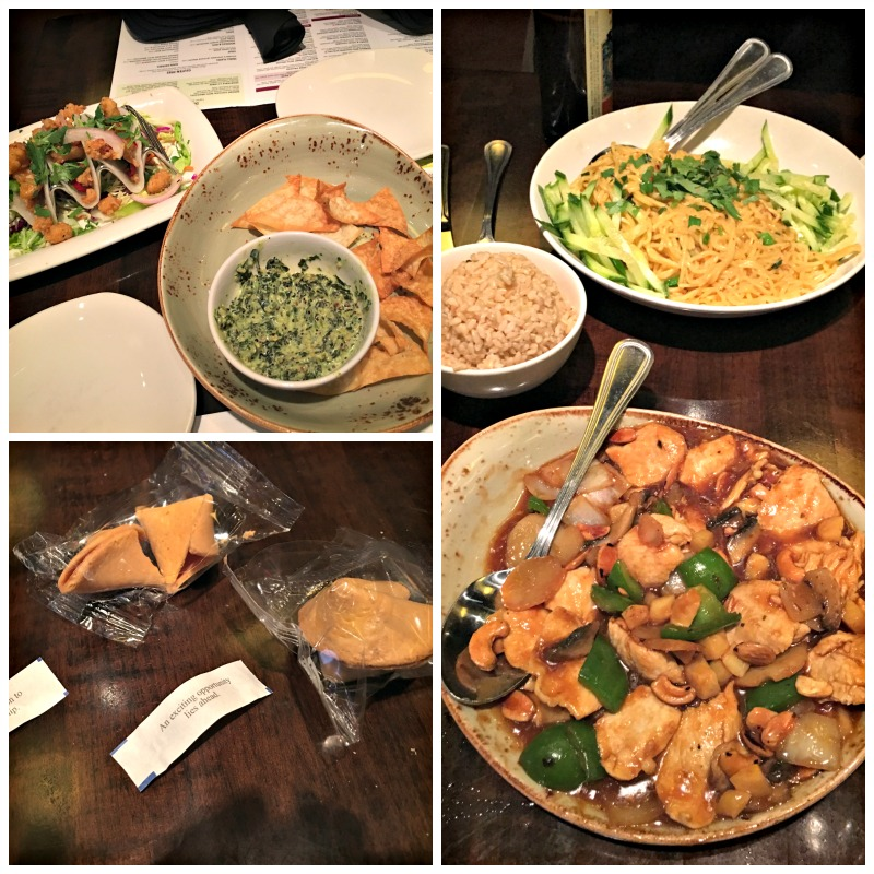 PF Chang's Dinner in Walnut Creek via A Lady Goes West