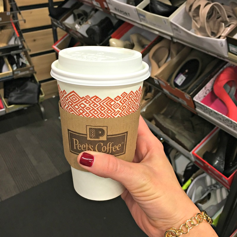 Peet's coffee and shopping via A Lady Goes West