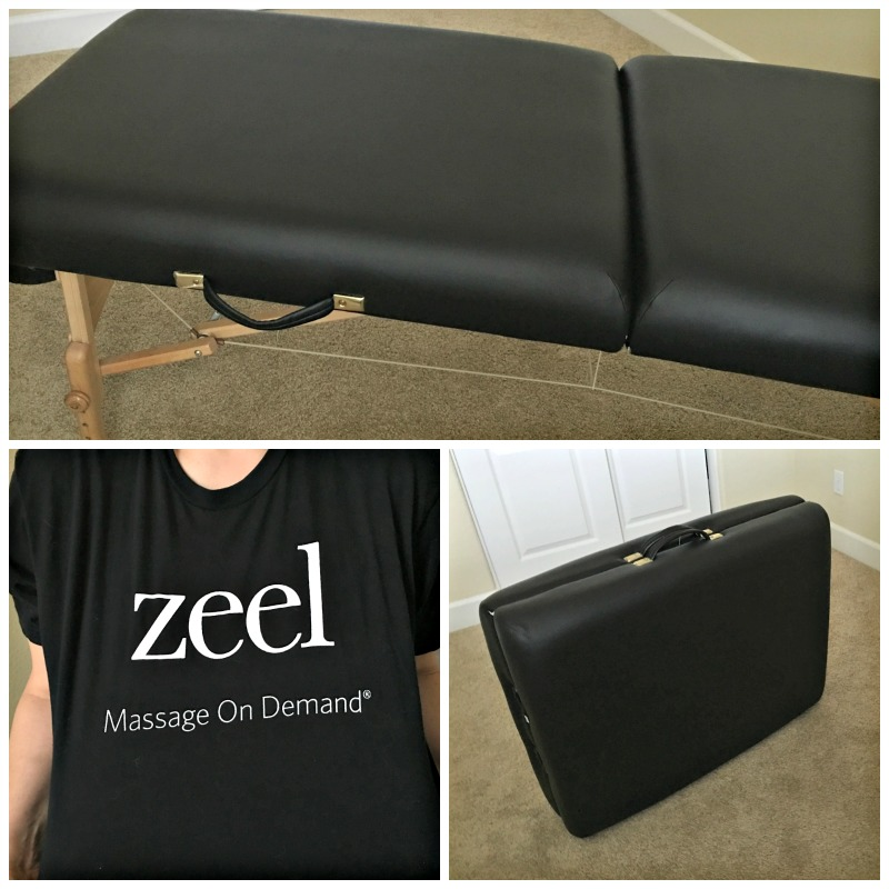 Zeel Massage on Demand service by A Lady Goes West blog