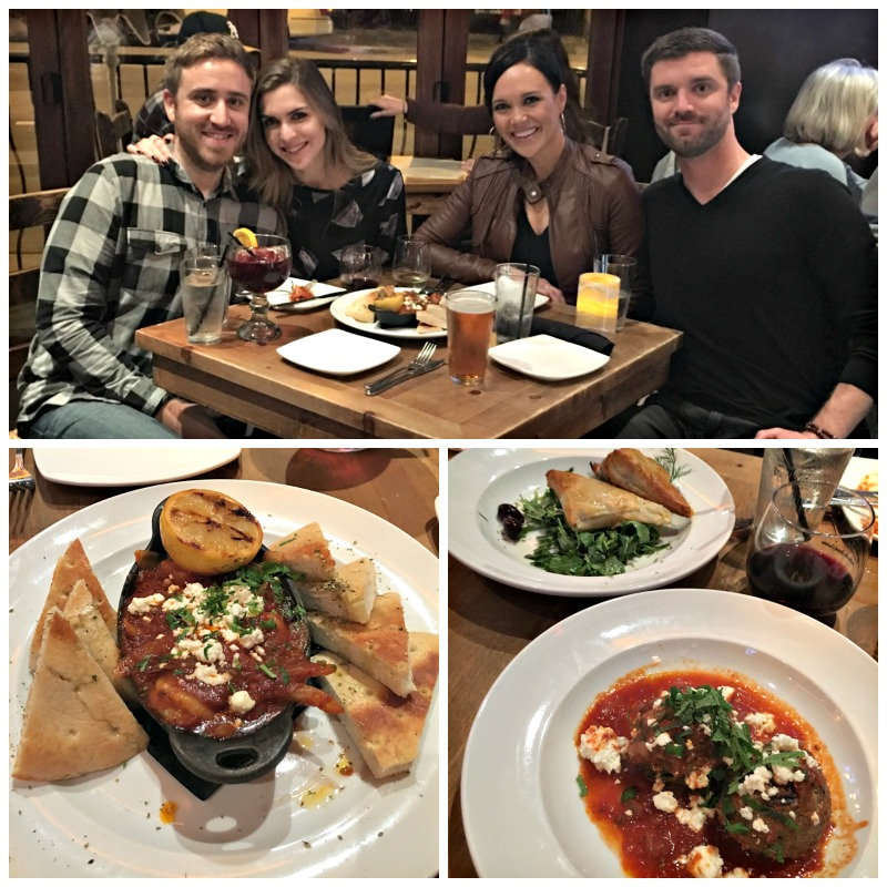 Dinner at Opa in Walnut Creek by A Lady Goes West